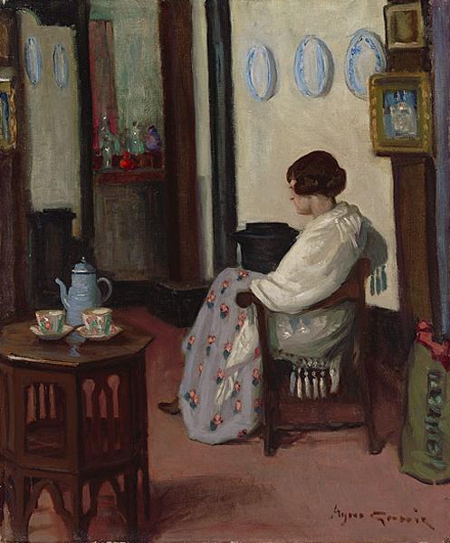 Agnes Goodsir - In a quarter-Latin-studio