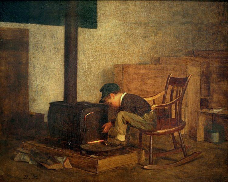 c John Eastman (American Painter, fl 1842-1880) -scholar
