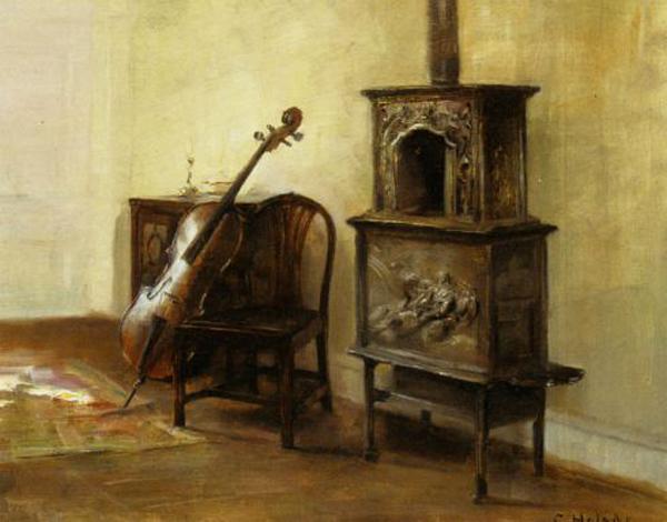 carl holsoe - interior with cello