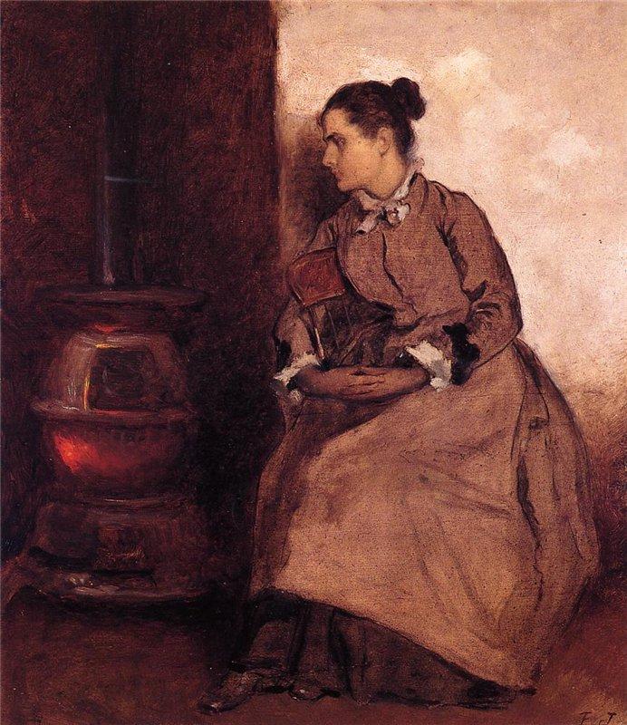 Eastman Johnson Ruth 1880-85 гг