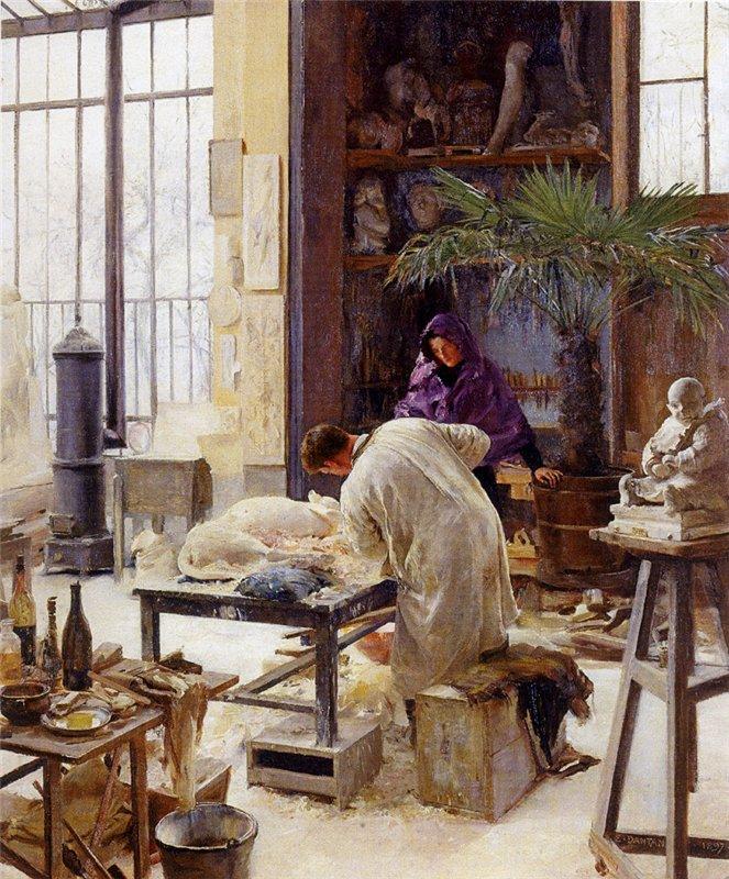 Édouard Joseph Dantan Moulage De Rio. 1897