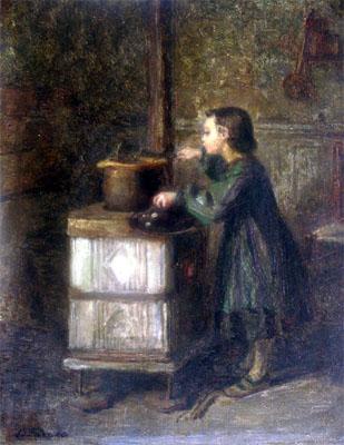 El pequeño glotón. Pierre Edouard-Frère