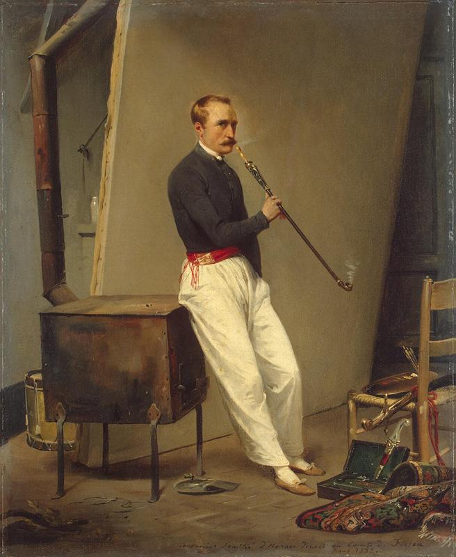 Vernet Emile Jean Horace Self Portrait 1835