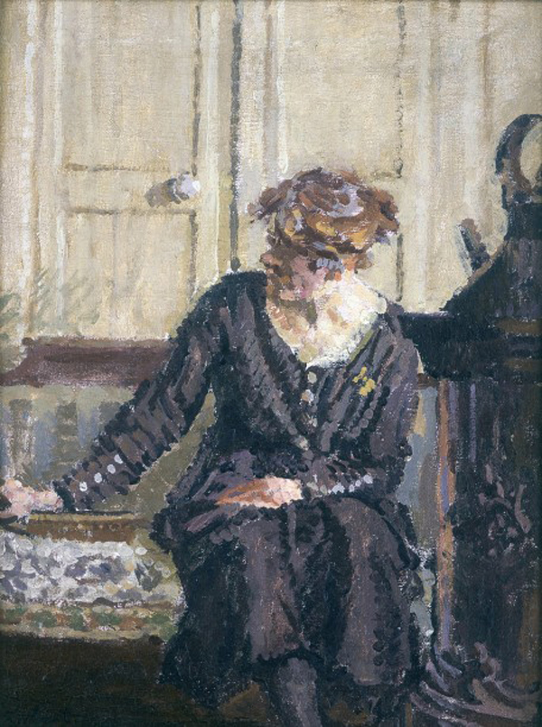 Walter Sickert -Lady-seated-by-a-stove
