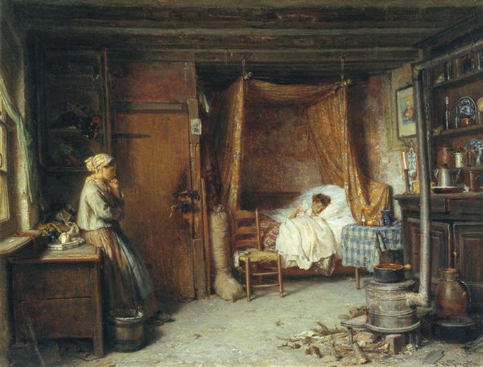 Гун К.Ф. хворе дитя.1869