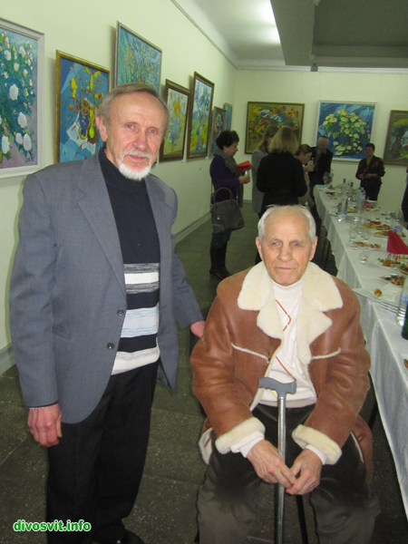 М. Максименко і його учень В. Войтенко