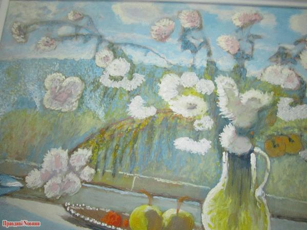 Максименко, Хризантемы на окне