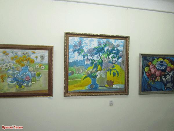 Картини М. Максименка, фото