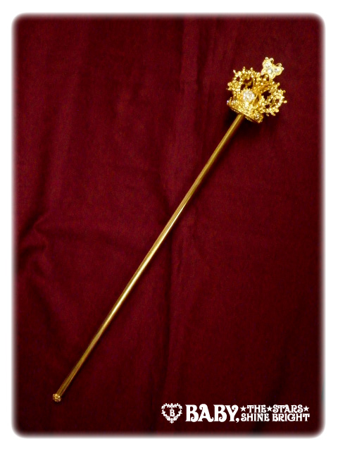 gButterfly crown scepter