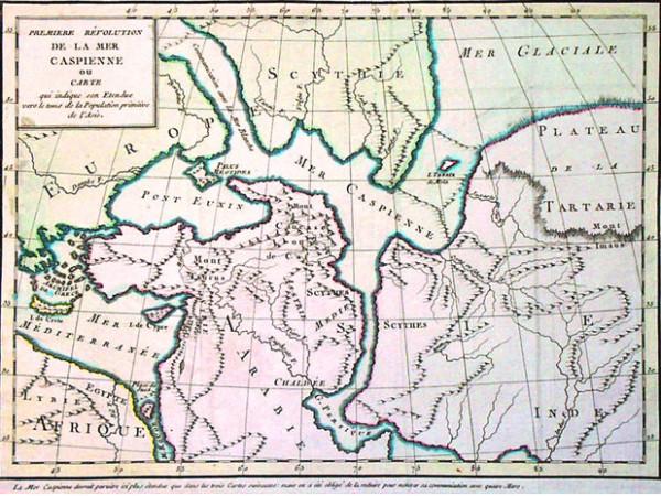 карта Скифское море