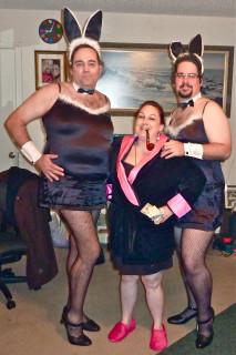 Halloween 2010 - Hef and Her Bunnies