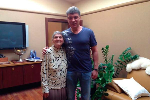 Борис с мамой