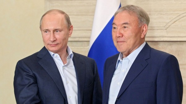 путин назарбаев