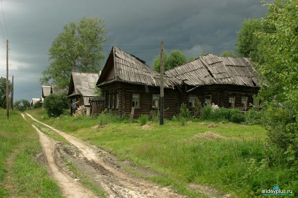 деревня заброшенная