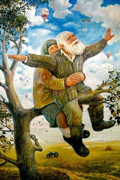 старички летать