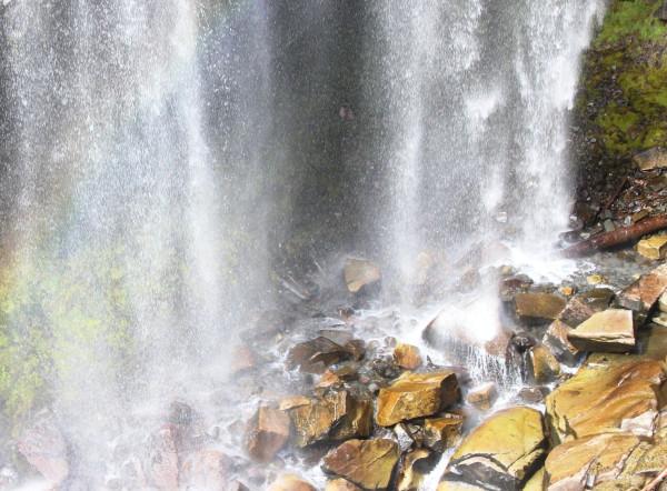 Narada Falls near Paradise, Washington
