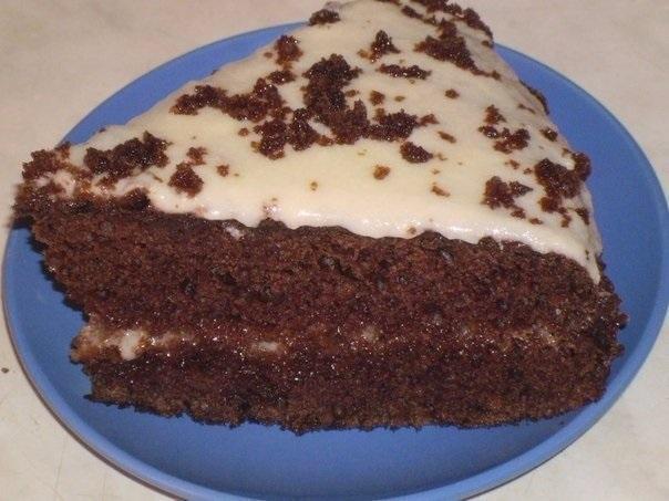 Очень вкусный торт Черный принц на кефире.jpg