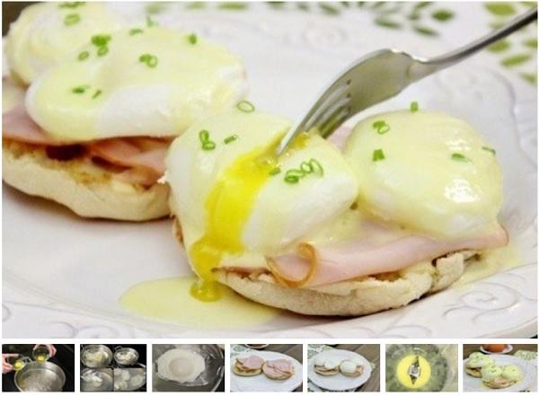 Яйца Бенедикт - традиционный завтрак во Франции