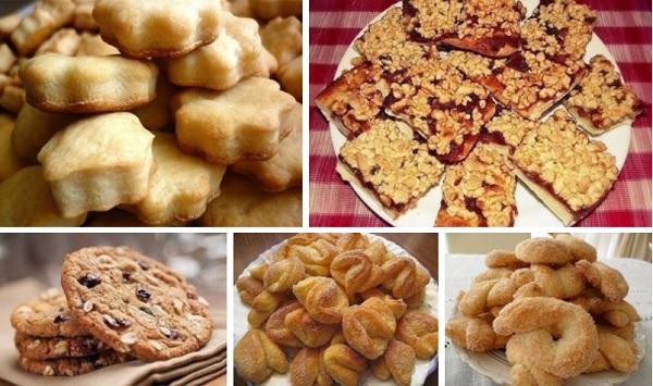 Как приготовить печенье - 5 самых быстрых рецептов