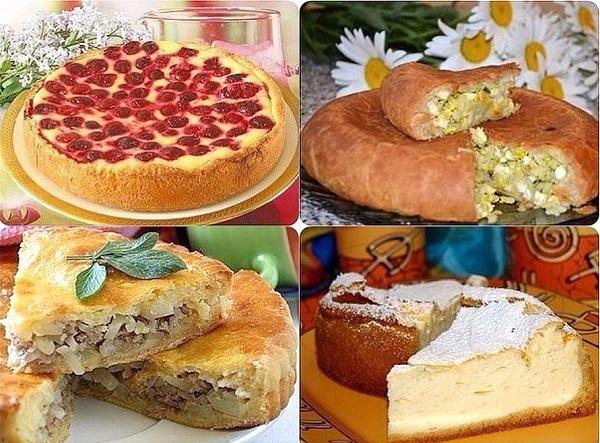 4 Простых рецепта семейных пирогов