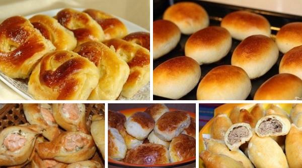 Пирожки, как у бабушки. 5 простых рецептов