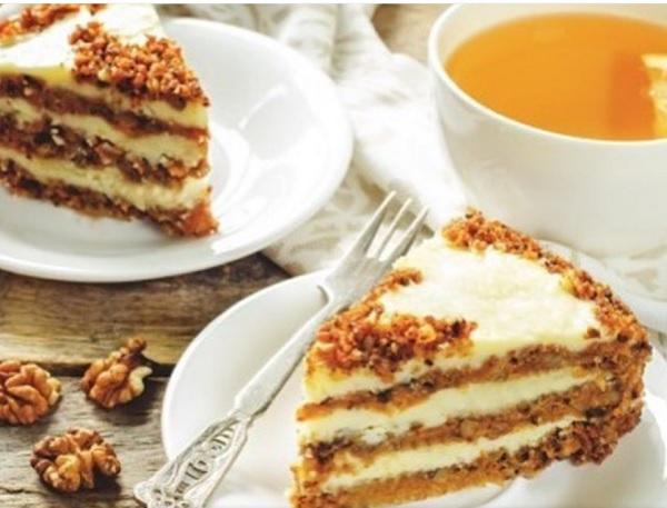 Морковный торт: поднимет настроение