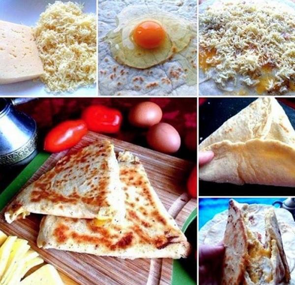 Ёка - армянская закуска из лаваша