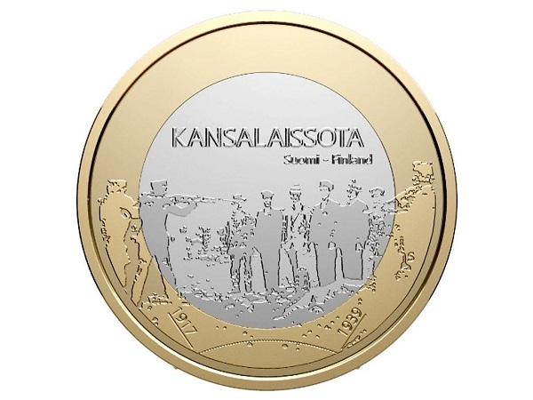 Юбилейную монету с изображением казни красногвардейцев хотели выпустить в Финляндии