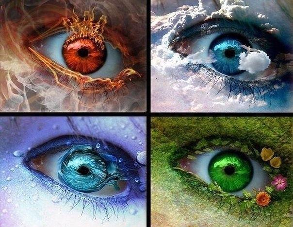 Магия цвета глаз