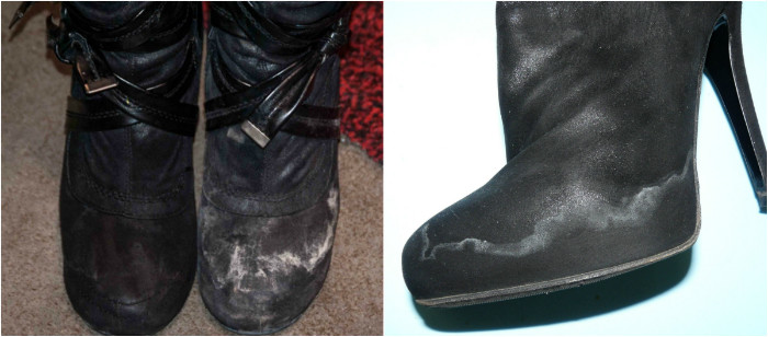 Как уберечь обувь от соли. Простые рецепты для замши, кожи и нубука.