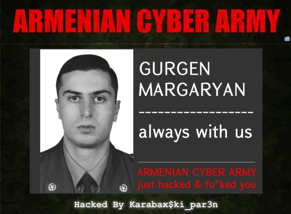 ARMENIAN CYBER ARMY