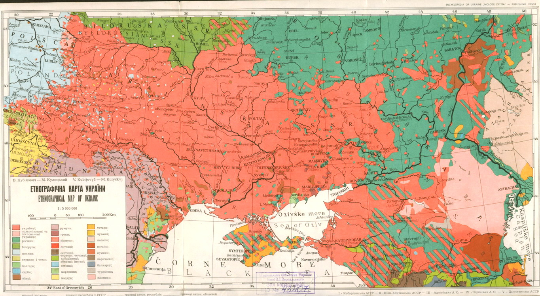 Украина-этническая-карта