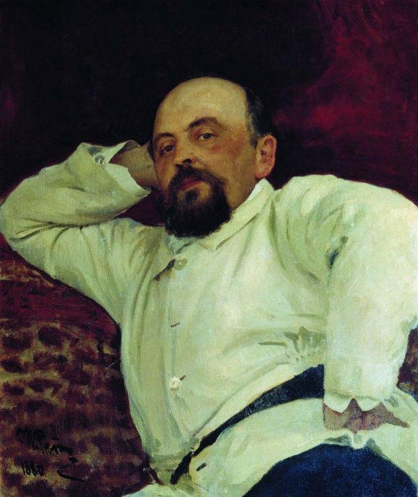 4-Илья Ефимович Репин  - Портрет С И Мамонтова - 1880.jpg