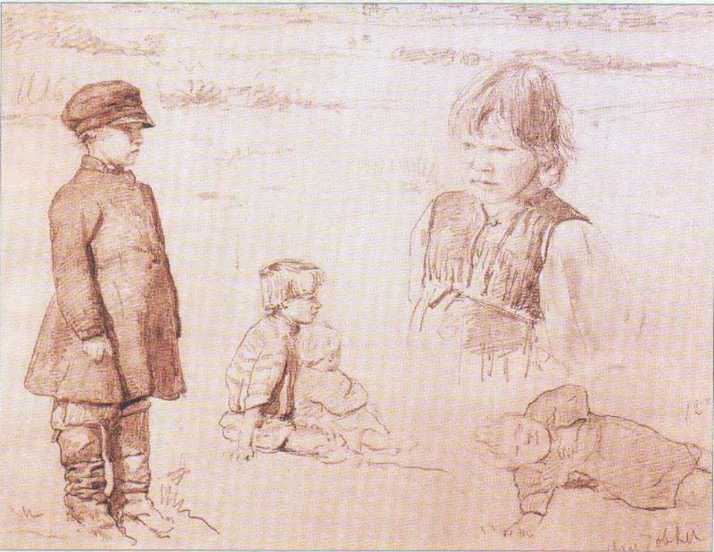 6-Валентин Александрович Серов - Зарисовки крестьянских детей.jpg