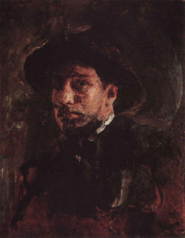 2-Валентин Александрович Серов - Автопортрет -  1885.jpg