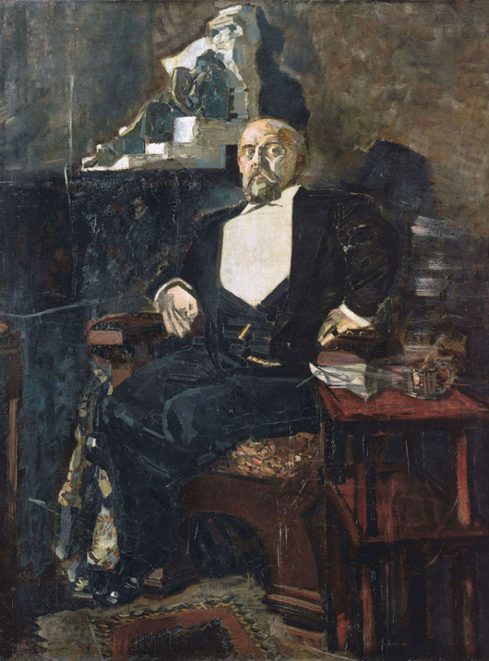 3-Михаил Александрович Врубель - Портрет С И Мамонтова - 1897.jpg