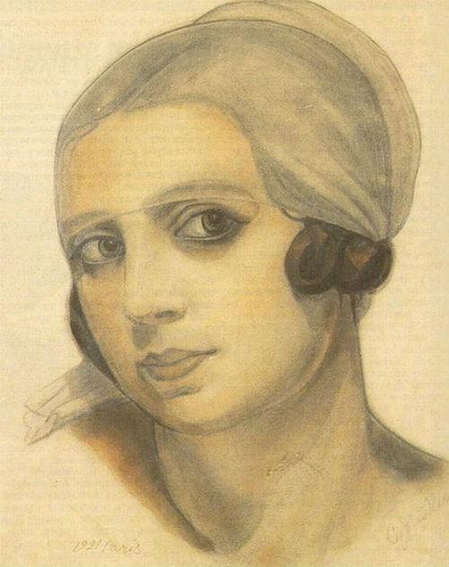 1-Сергей Юрьевич Судейкин- Вера де Боссе - 1921.jpg