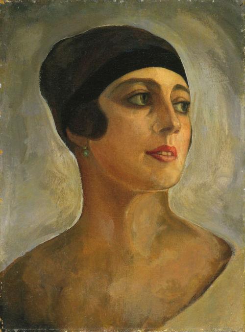 3-Сергей Юрьевич Судейкин - Портрет Веры Судейкиной - 1924.jpg