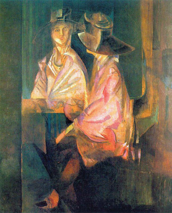 5-Георгий Якулов - Портрет Алисы Коонен - 1920.jpg