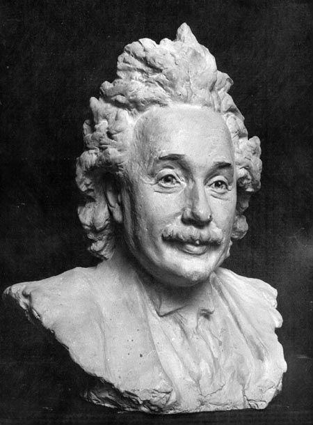 5-Сергей Коненков - Портрет Альберта Эйнштейна - 1935.jpg