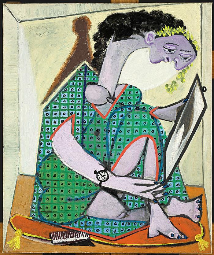 2-Пабло Пикассо - Женщина с часами.jpg
