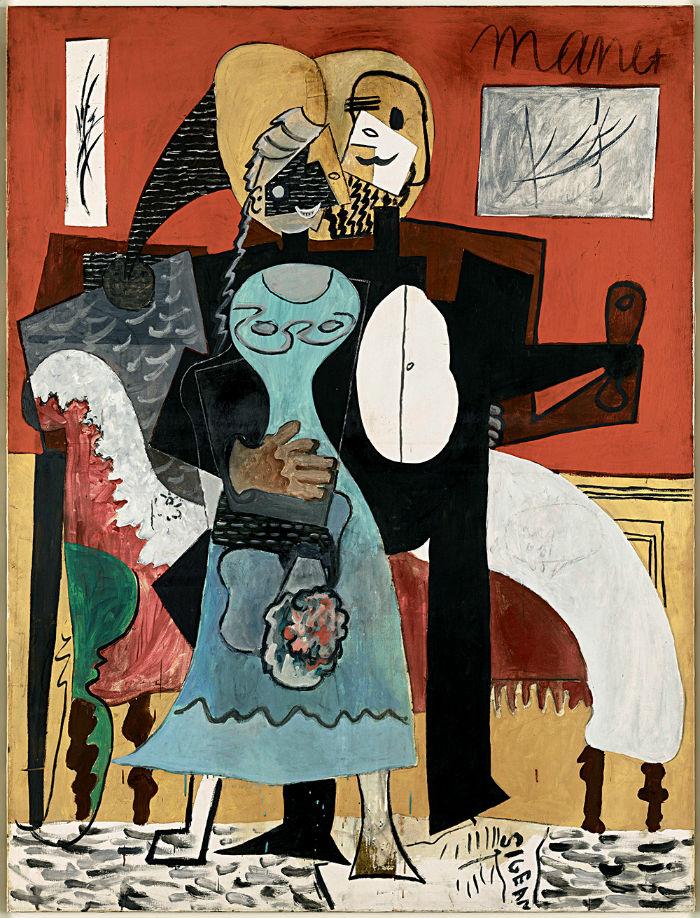 6-Пабло Пикассо - Влюбленные - 1919.jpg
