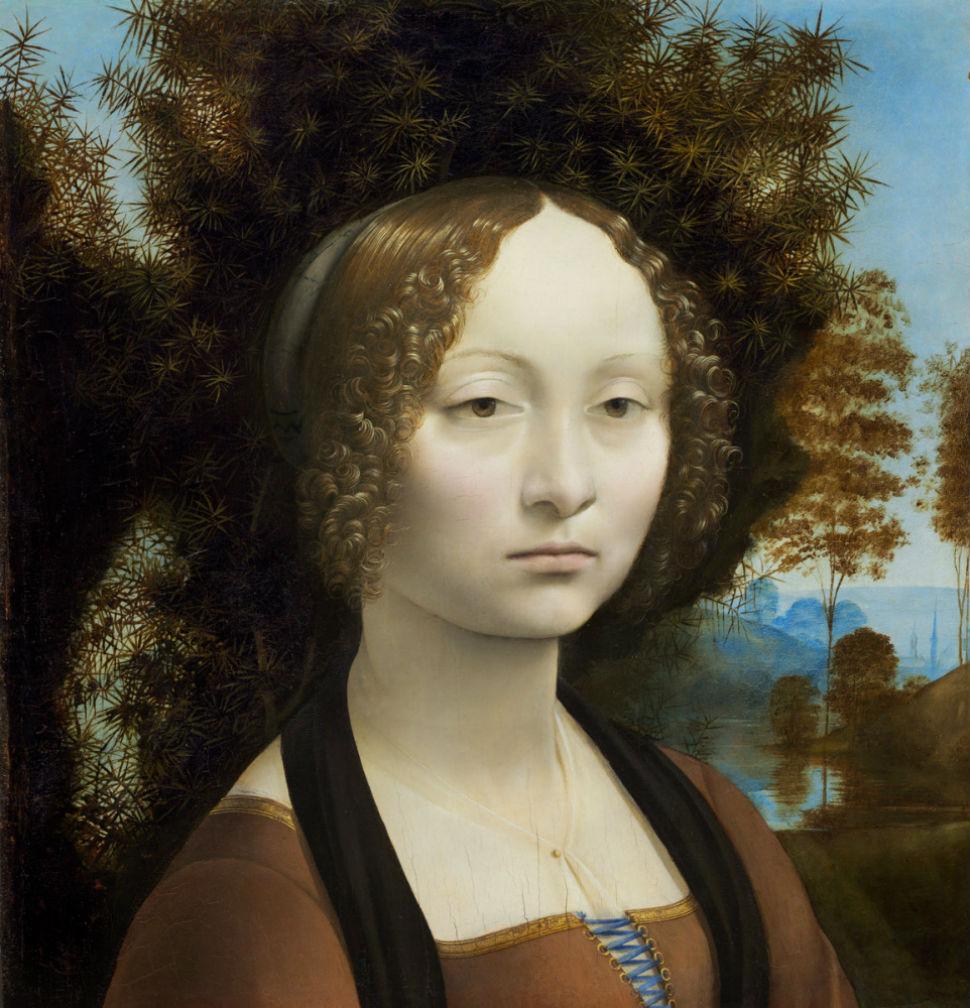 2-Леонардо да Винчи - Портрет Джиневры де Бенчи - 1470-е.jpg