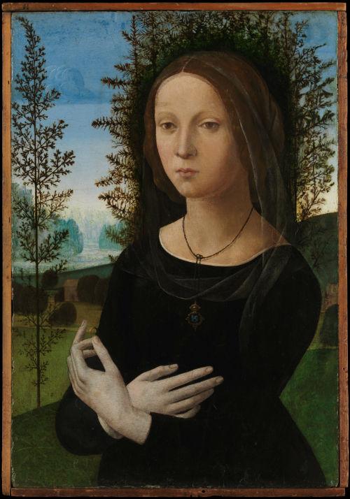 5-Лоренцо ди Креди - Портрет молодой женщины - 1490-е.jpg