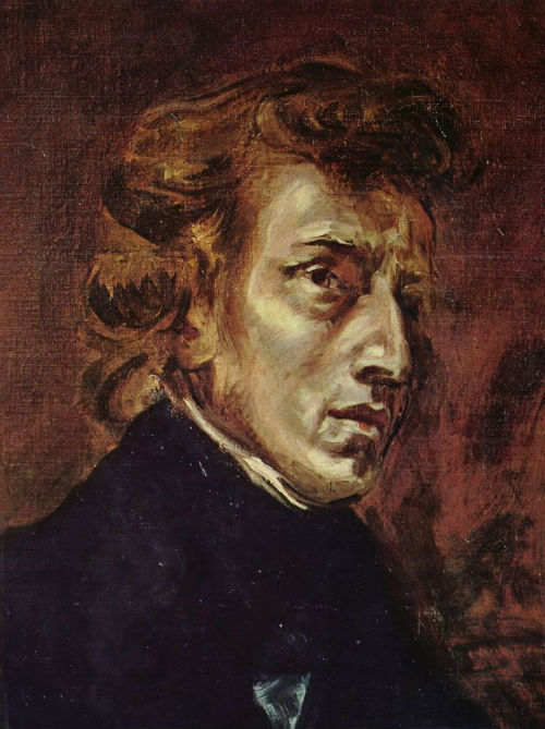 27-Эжен Делакруа - Портрет Фредерика Шопена - 1838.jpg