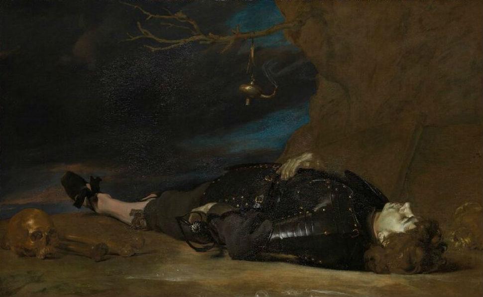 Неизвестный художник - Мёртвый воин - XVII век.jpg