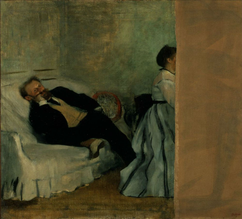 38-Эдгар Дега - Месье и Мадам Мане - 1869.jpg