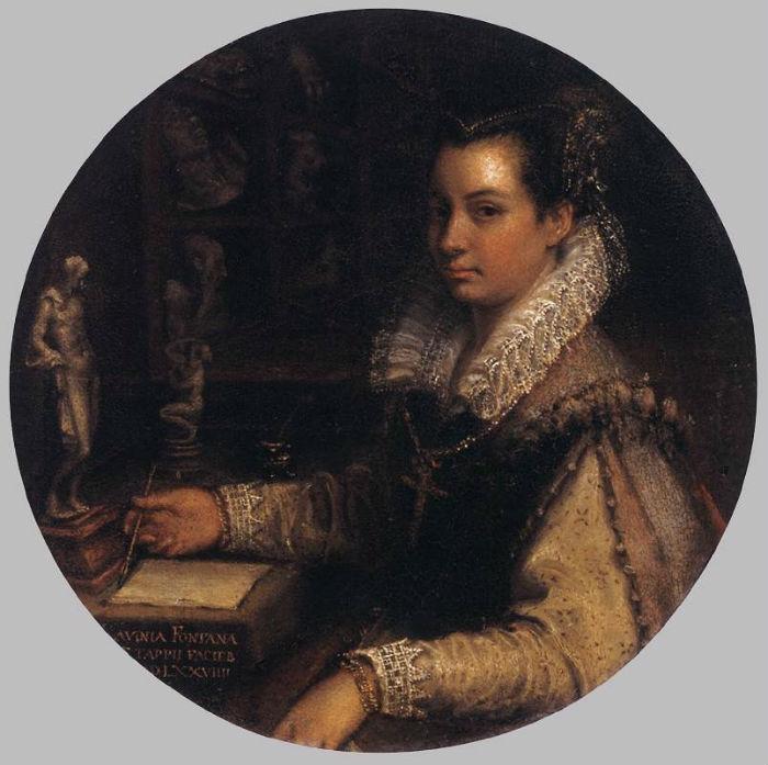 1-Лавиния Фонтана - Автопортрет - 1579.jpg