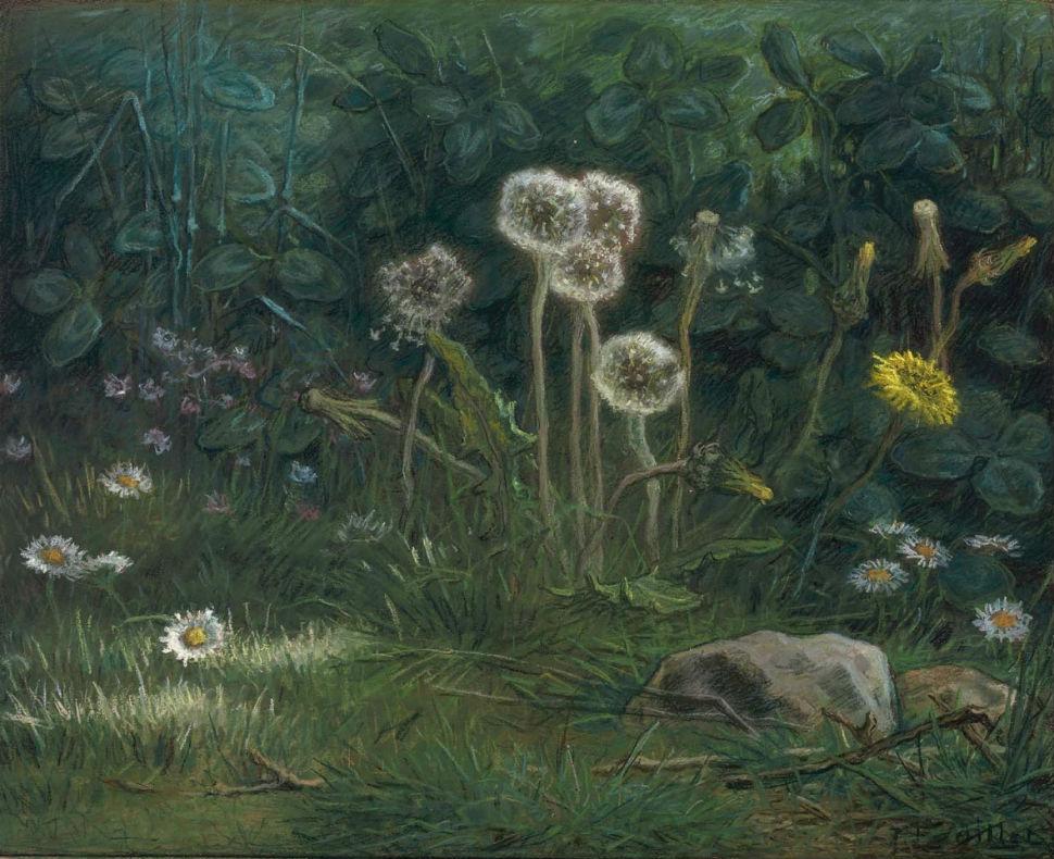 7-Франсуа Милле  - ОдуванчикиЖан - 1868.jpg