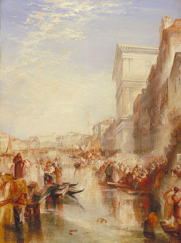 3-Уильям Тёрнер - Гранд Канал Уличная сценка в Венеции - 1837.jpg